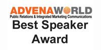Advena World Best Speaker Award